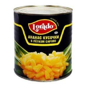 ананас кусочки в сиропе для фруктовых салатов
