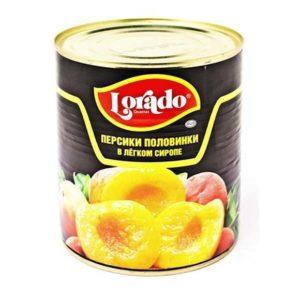 персики в сиропе для десертов