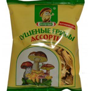 сушеные грибы ассорти 50 г